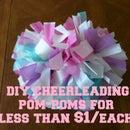 DIY Cheerleading Pom-Poms