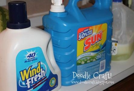 Fill Bottles, Set Up, Wash!