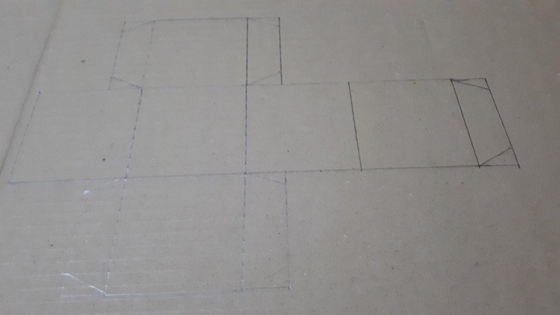 Make Square Box 3 Inch With Fill Boards