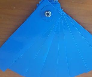From Orange Juice Carton to Folding Hand Fan