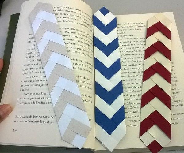 Marca-páginas / Book Mark Chevron