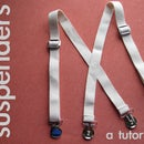 Dapper Dandy Suspenders {in ten minutes!}
