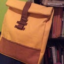 All Fabric Roll-top Rucksack