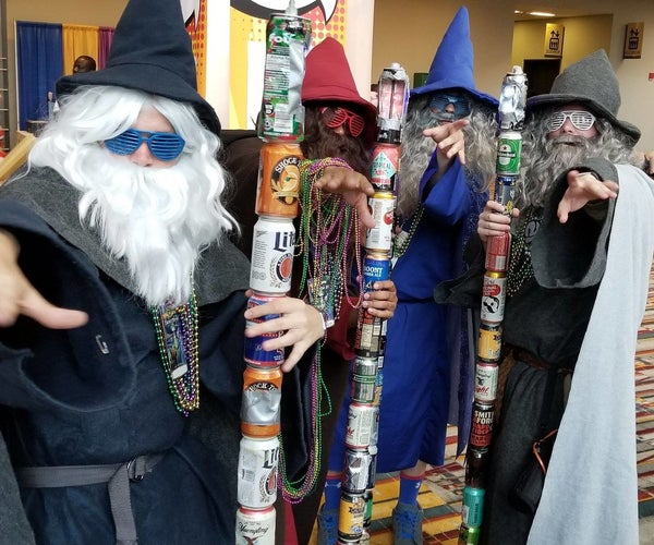 How to Make the Ultimate Beer Wizard Staff