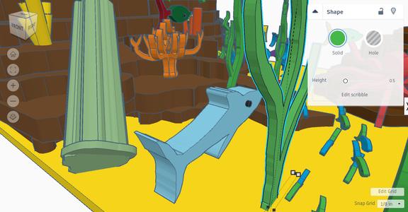 Make Sea Creatures
