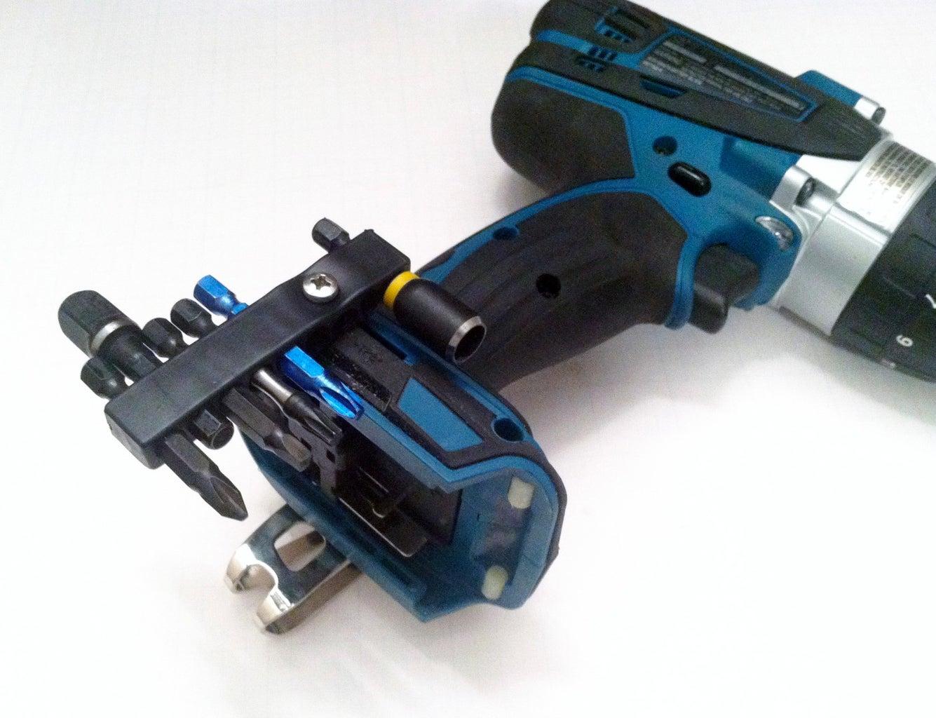 Bit Magazine for a Blue Drill