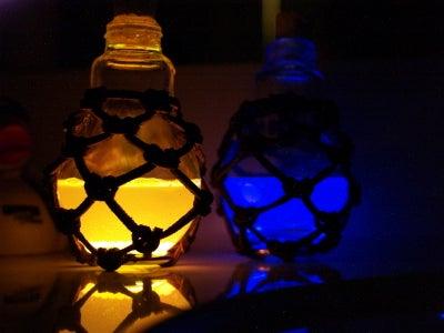 Steampunk Potion Bottles