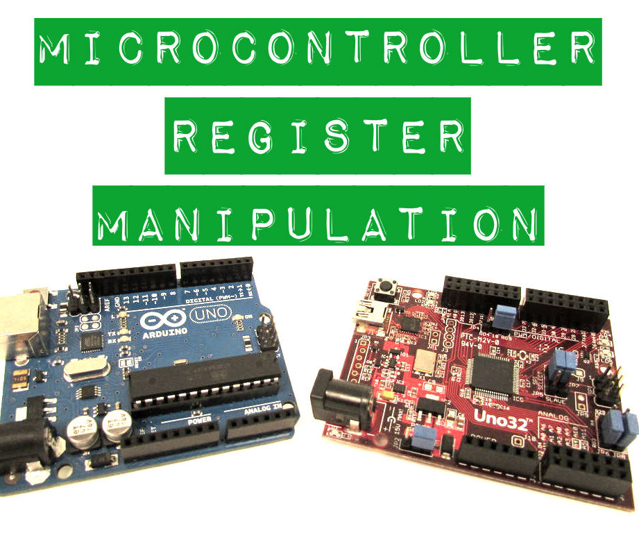 Microcontroller Register Manipulation