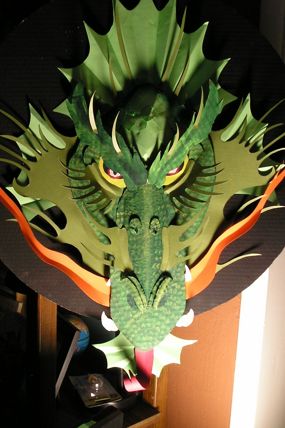 Make A Cardboard Dragon!