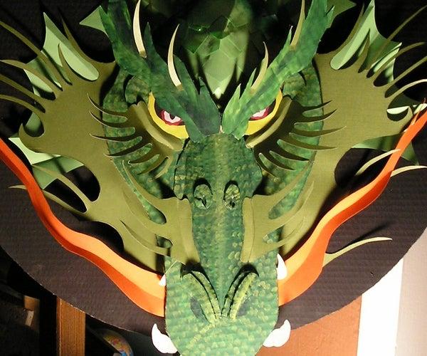 Make a Cardboard Dragon!