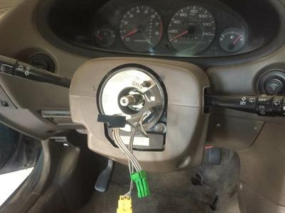 Remove the Steering Wheel