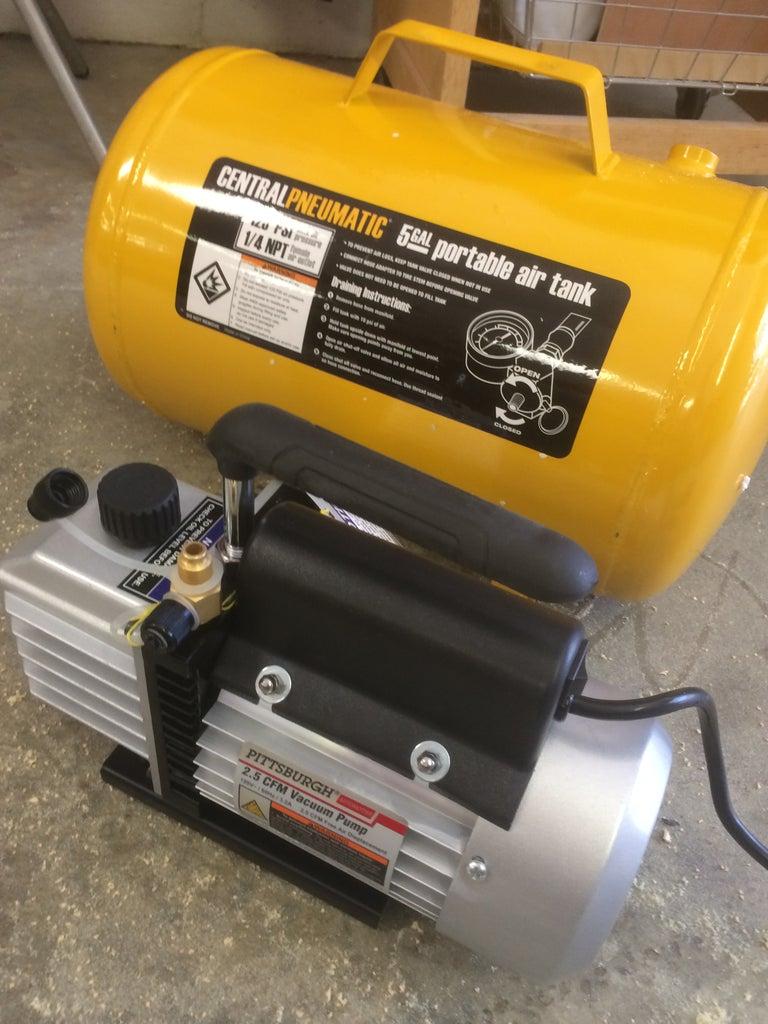 Fitting a Dedicated Vacuum Pump