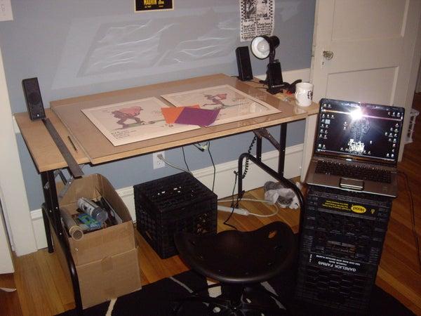$50 Drafting Table