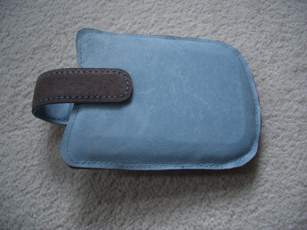 Leather BlackBerry Case With Sleep Mode