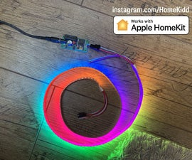 Apple HomeKit WS2812B LED Controller