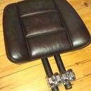 My DIY triumph bonneville backrest / sissy