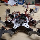 Hexapod Arduino über  eine SSC32
