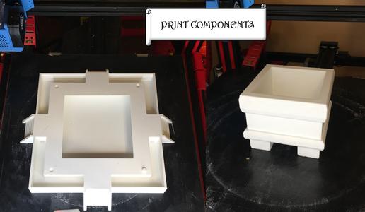 Step 1: Print Bog Planter Components