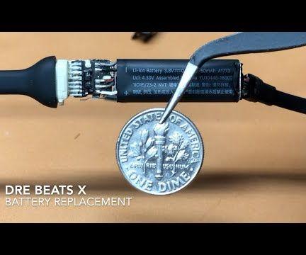 Dre BeatsX Battery Replacement