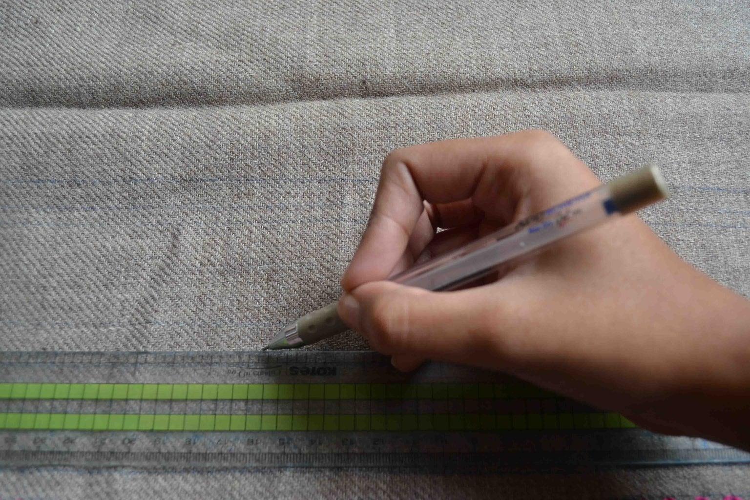 Mark the Fabric