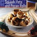 Squash, Feta and Pecan Rolls
