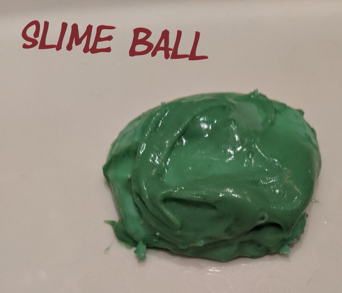 Soap Based Flubber (Non-Toxic)