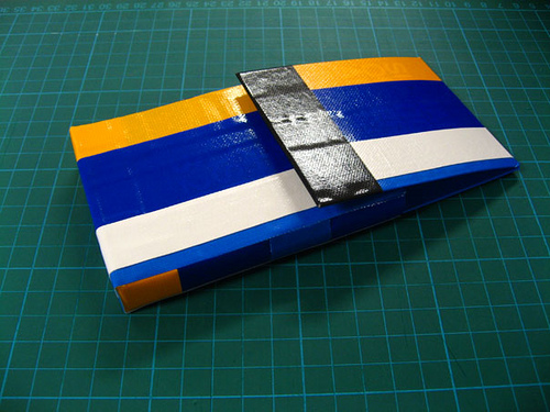 That stripey duct tape pencil case