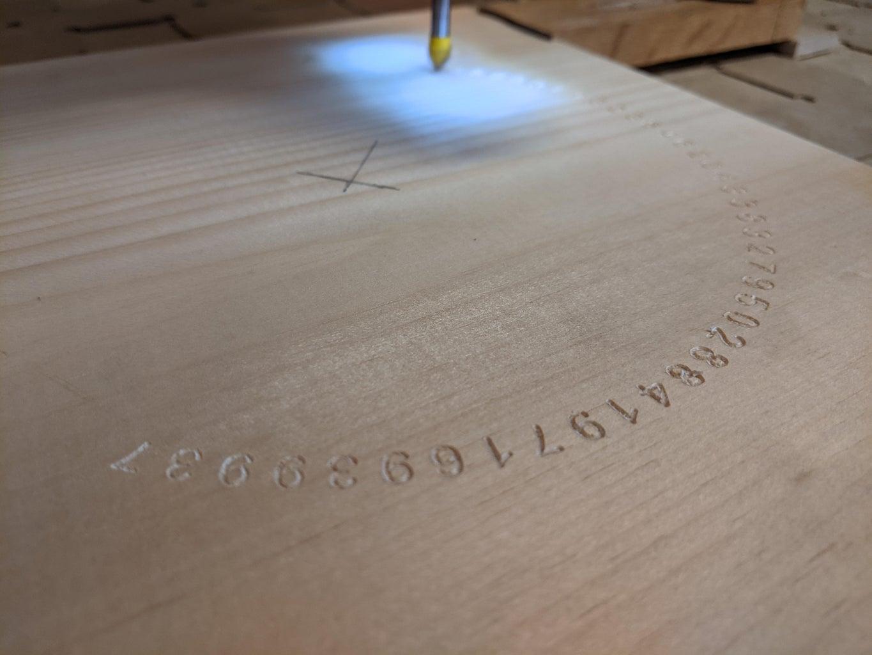 Run the V-bit Engraving Gcode