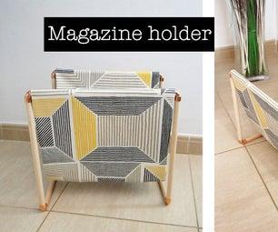 Make a Magazine Holder. DIY Project