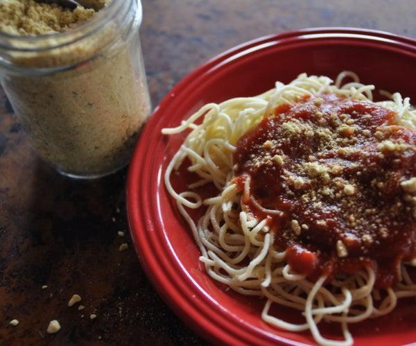 How to Make Vegan Parmesan | Only 5 Ingredients