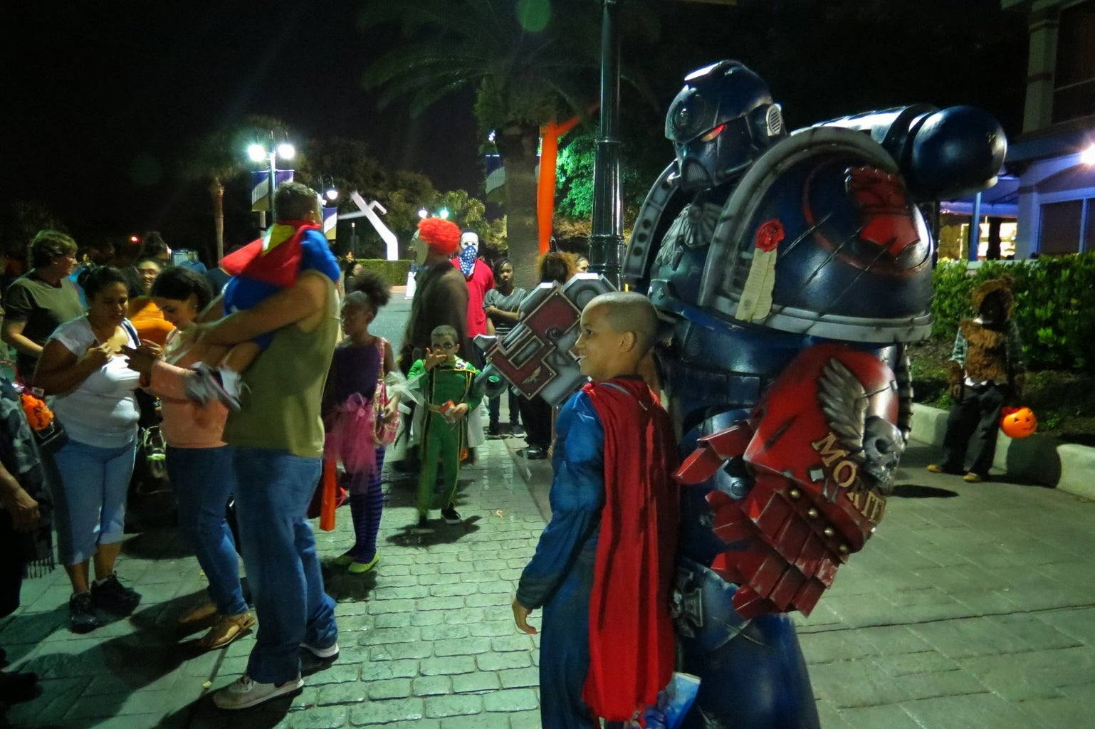 Go Out and Enjoy Your Amazing Space Marine Costume