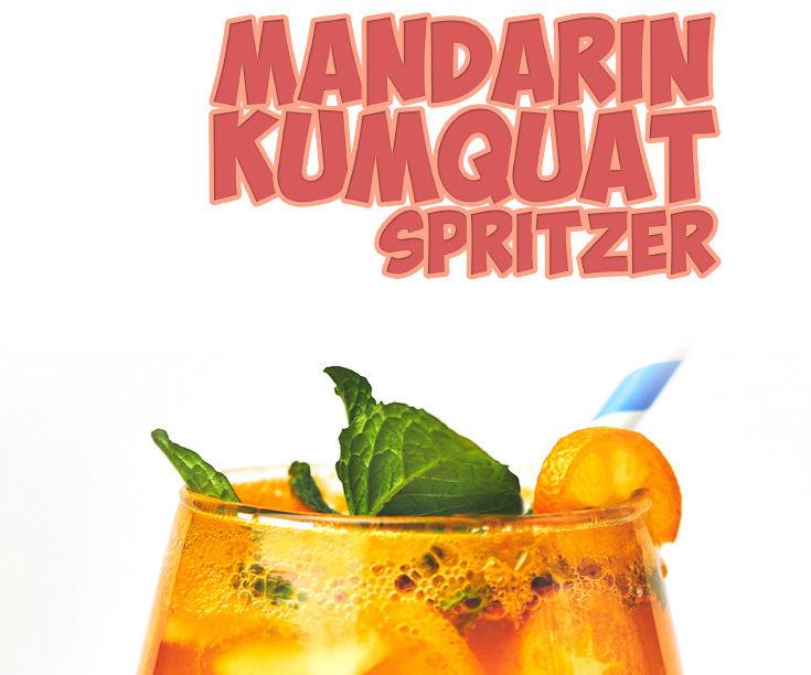 Mandarin Kumquat Spritzer