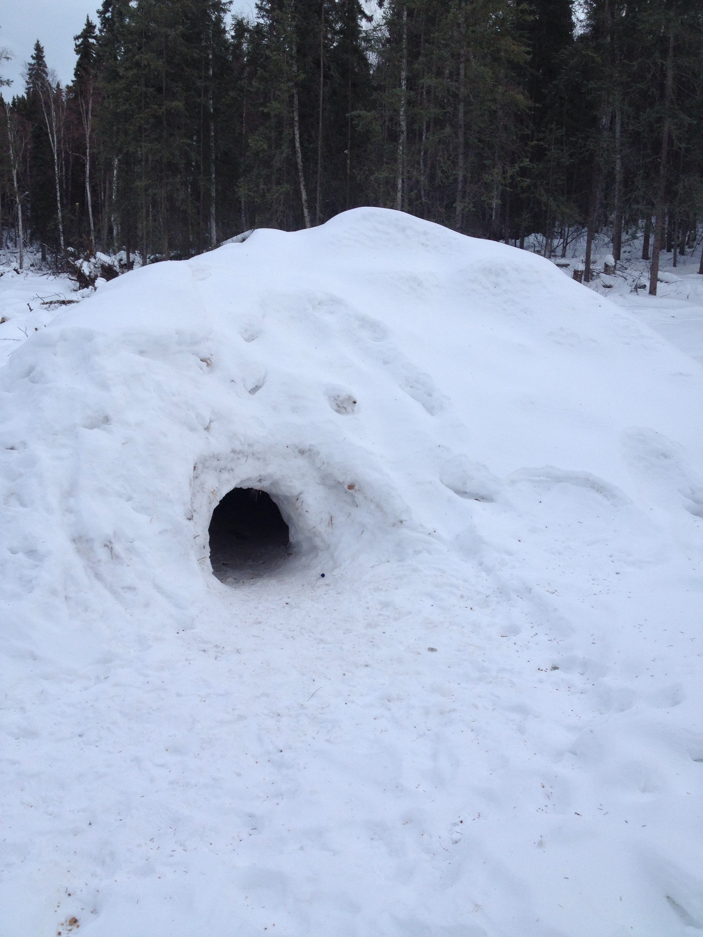 Awesome Snow Cave