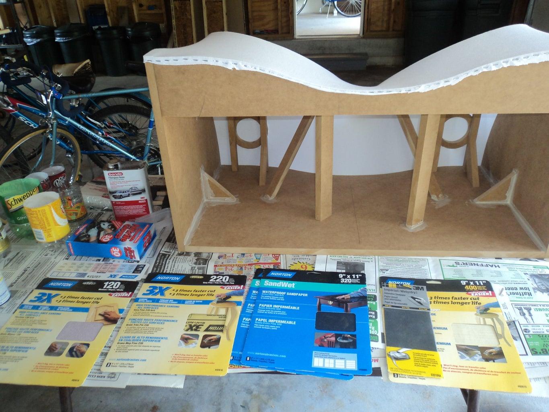 Adding the Fiberglass