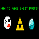 How to make 8-Bit or Minecraft Props/Items