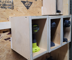 Simple Tool Storage Wall With French Cleats