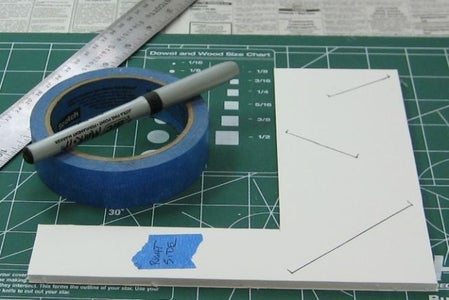 Cut the Pieces Out of the Foamboard