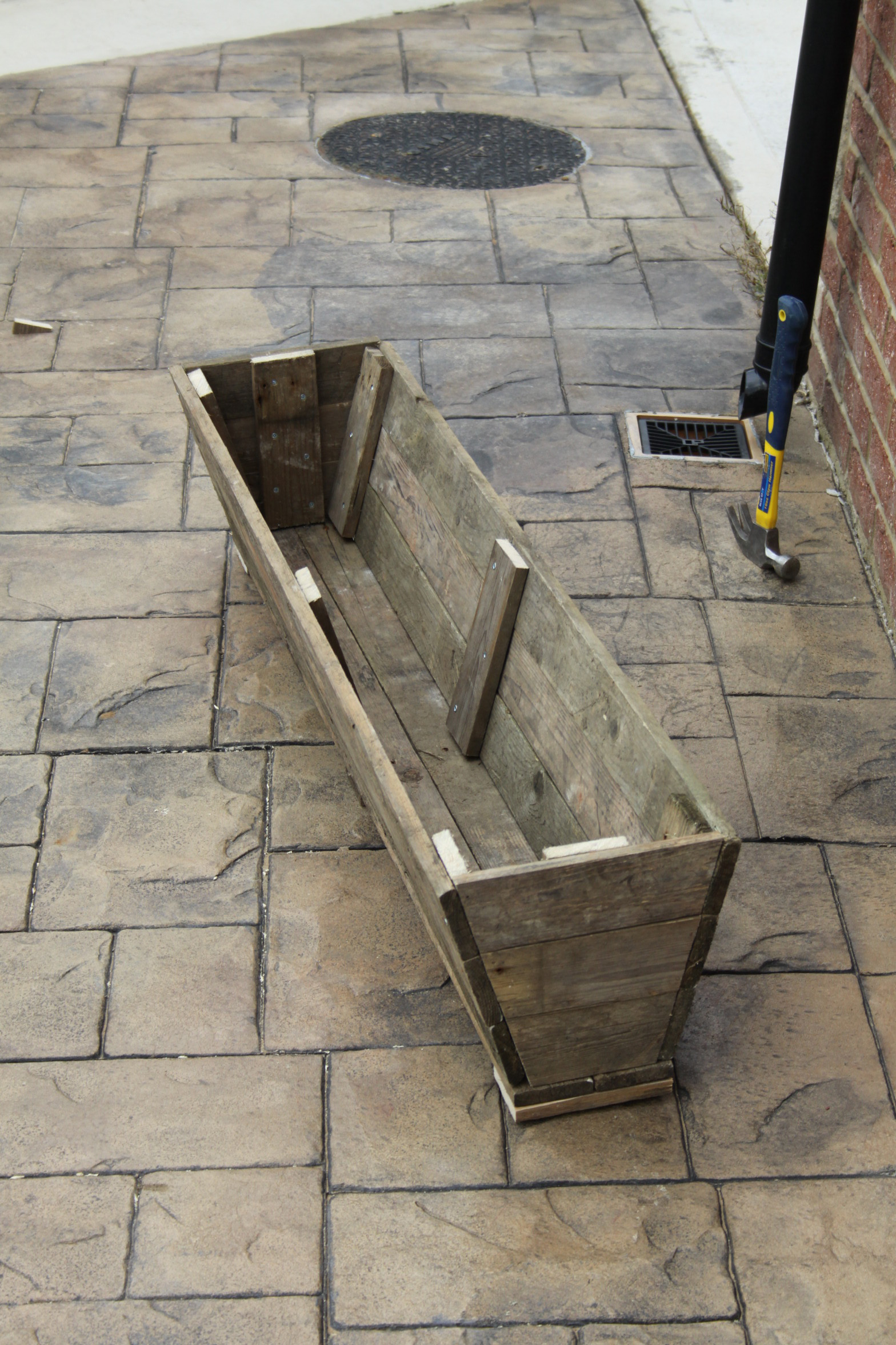 Reclaimed Planters