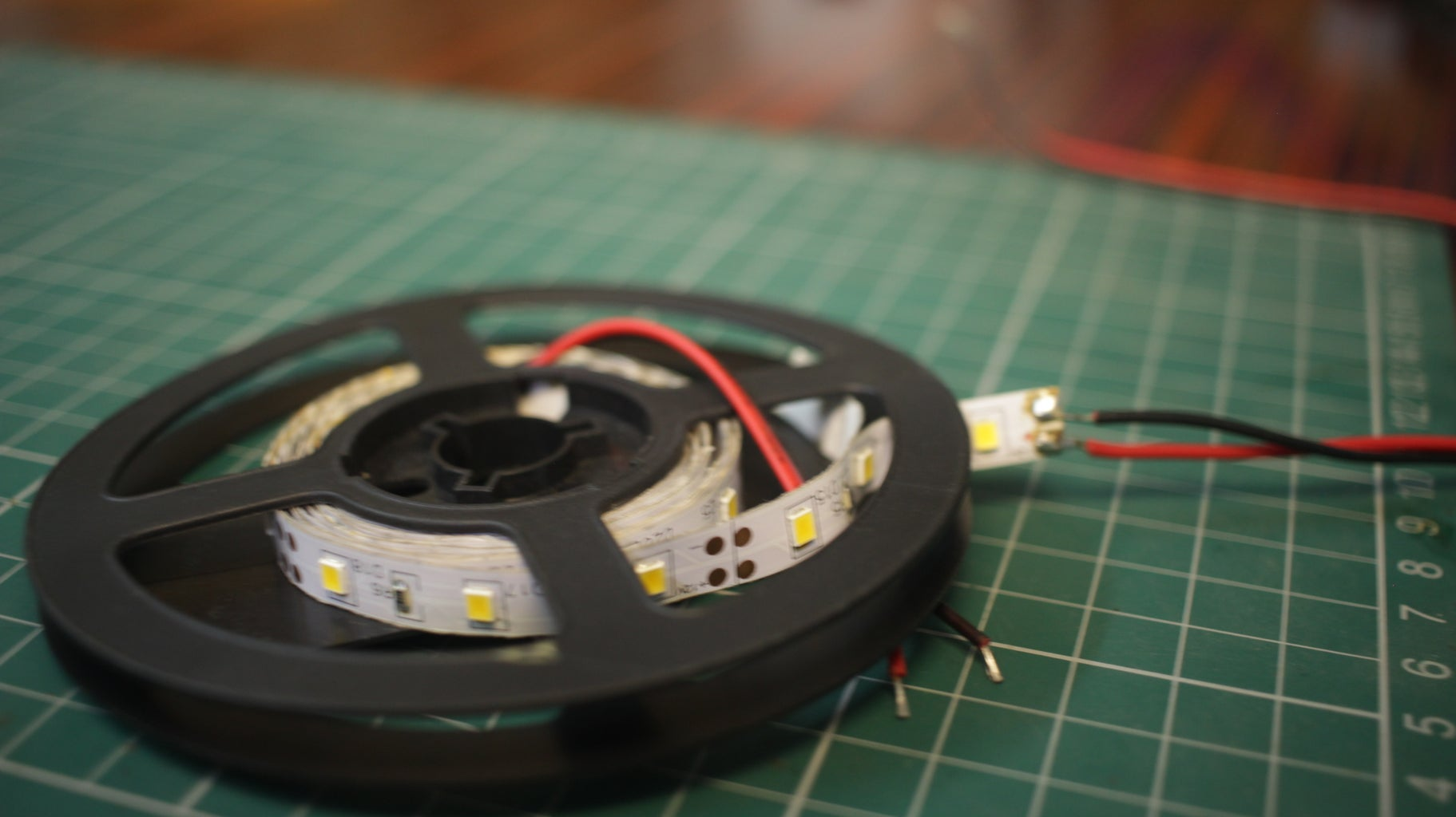 Mounting the LED