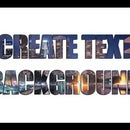 Photoshop Tutorial - How to Create Text with Background