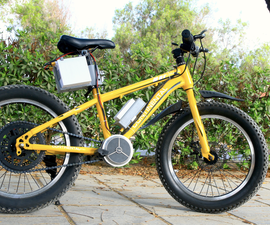 Crazy Fast Electric Bicycle Conversion