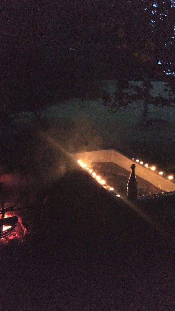Wood Fired Outdoor Bath