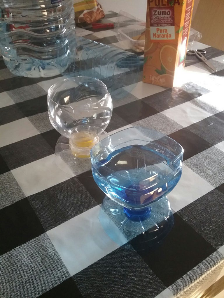 Plastic Cups From Bottles