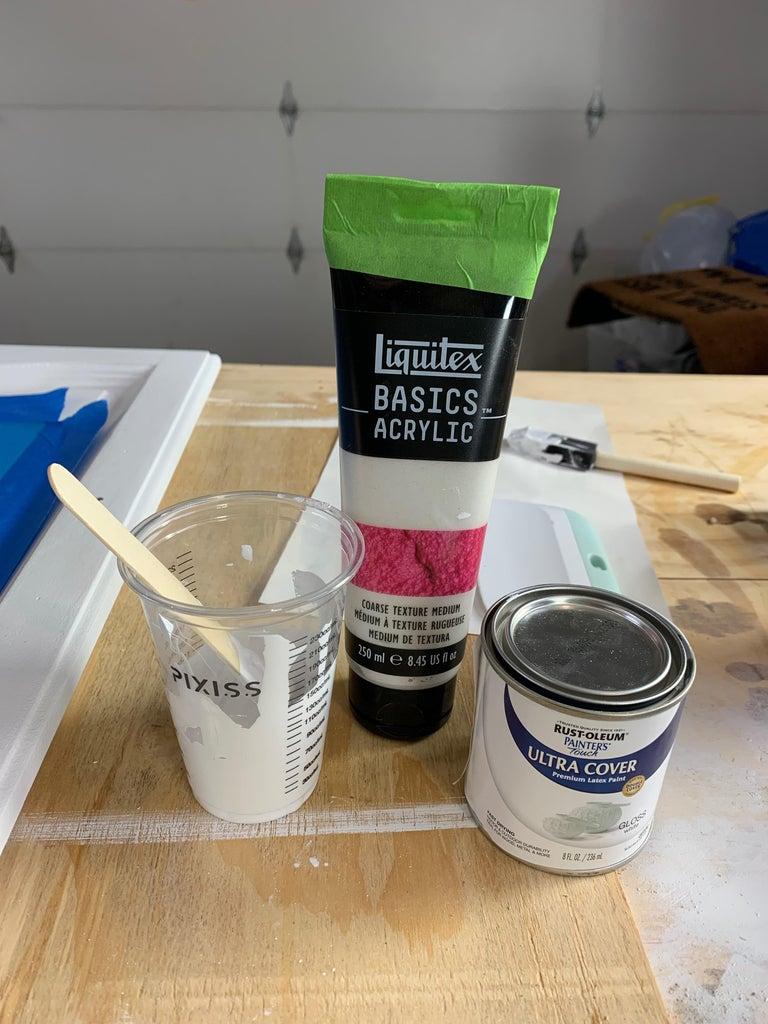 Apply Textured Paint