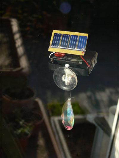 Clockwork Rainbow Maker (solar)