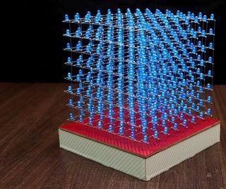 如何构建8x8x8 LED立方体