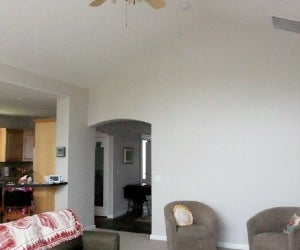 Pulling Switching Chains on a High Ceiling Fan