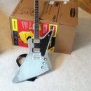 Making a 1:1 scale cardboard guitar model