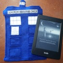 Felt T.A.R.D.I.S Kindle Holder
