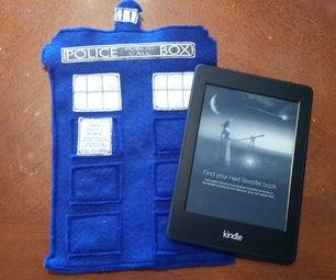 Felt T.A.R.D.I.S Kindle Holder